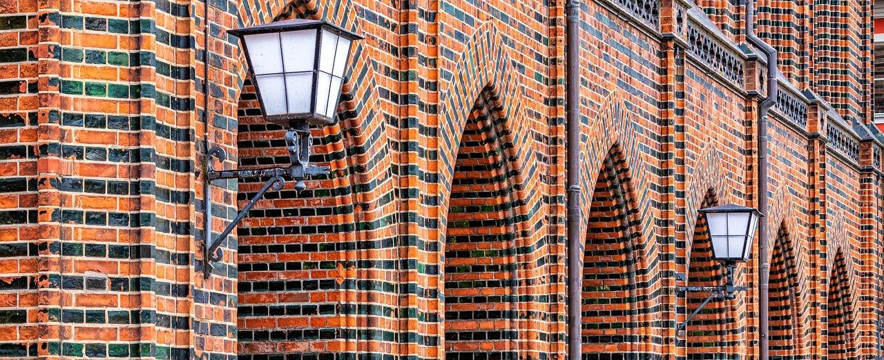 Fassade in Stralsund