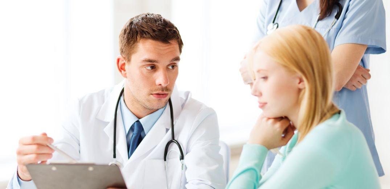 Kommunikation zwischen Arzt und Patient
